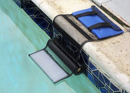 Frogs Swimming Pool - Critter Pool Escape Net-Animal Escape Ramp for Pools- Save Critters in Swimming Pool Device-Frog Pool Escape-Mice Rats Squirrels Possums Turtle Frogs Saver-Easy Setup Low Priced Animal Escape Device