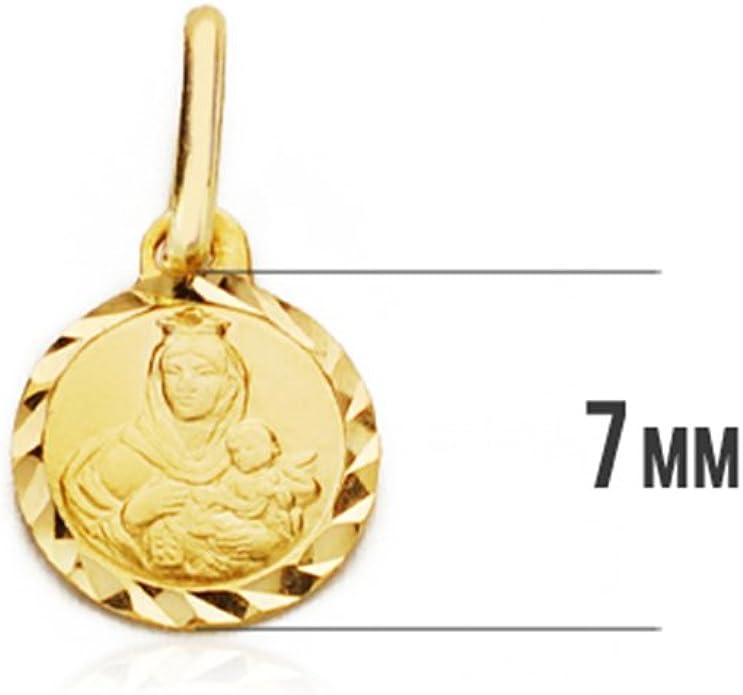 Alda Joyeros Medalla Virgen del Carmen 18ktes Mini