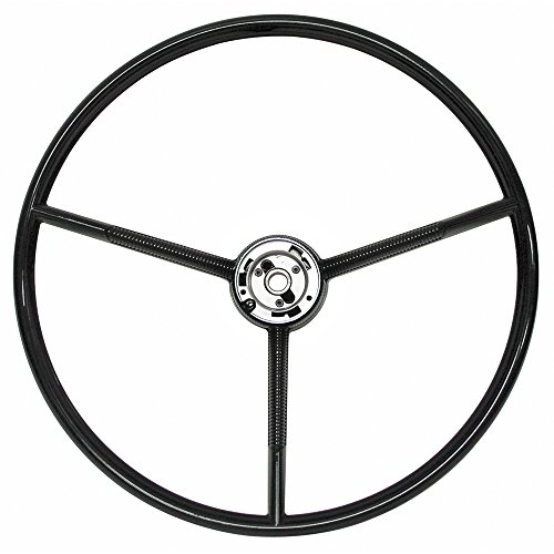 "New 1961-70 Ford F-100 F-250 Pickup Truck 1960-63 Falcon 1963 Comet Villager 3-Spoke 17"" OD Steering Wheel (C3DZ-3600A)"