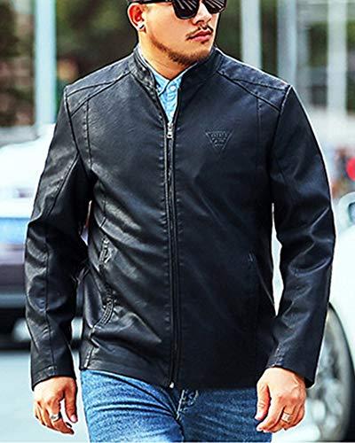 Retro Lunga Manica Casual Nero Classico Jackets Dianshaoa Harrington Jacket Uomini Vintage Cappotto Giacca OzwxBq8E