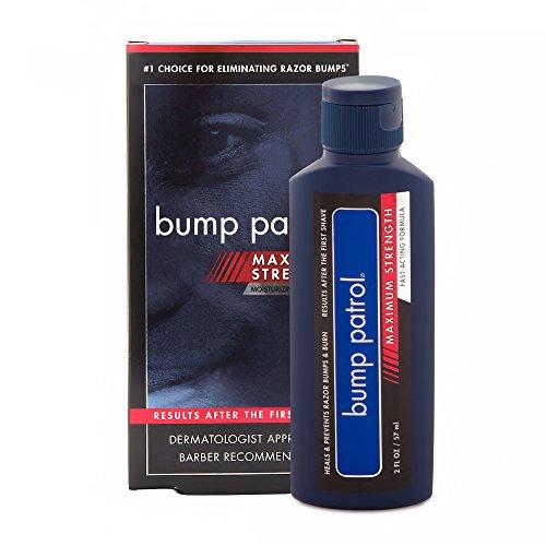 bump patrol maximum strength aftershave formula after