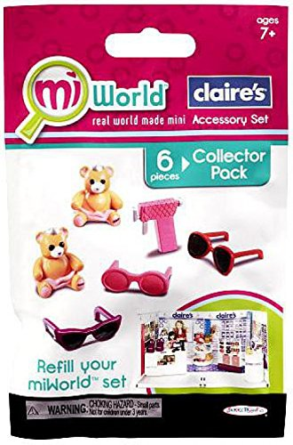 MiWorld Playset Refills Claires Set Collector Pack 1