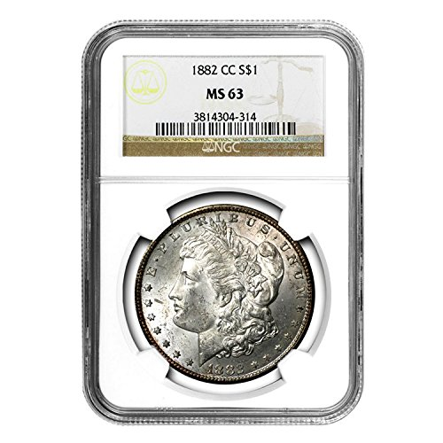1882 CC Morgan Dollar $1 MS-63 NGC