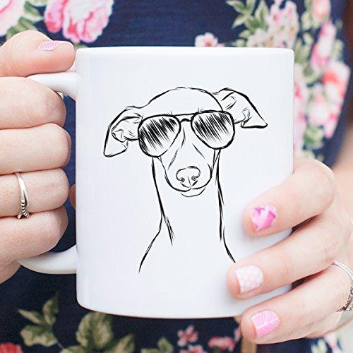 Ziggie the Italian Greyhound Coffee Mug 11oz Dog Lover Gift for Him Her
