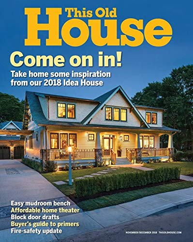Magazines : This Old House