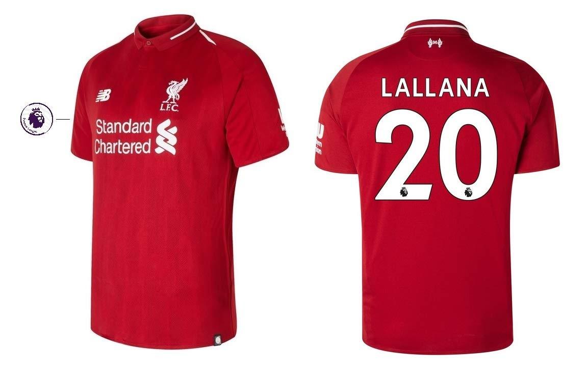 FC Liverpool Trikot Kinder 2018-2019 Home PL - Lallana 20