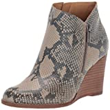 Lucky Brand Women's LK-YEWANI Ankle Boot, Chinchilla, 5 M US