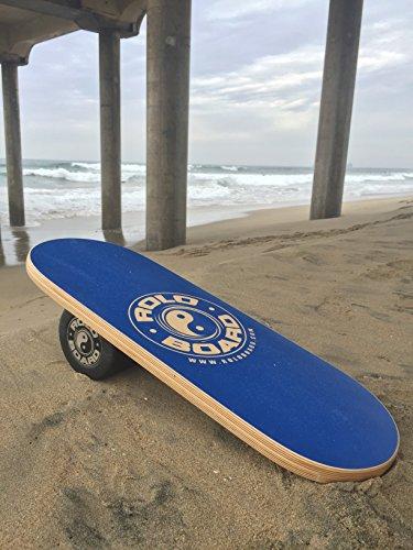 Rolo Balance Board Ocean Blue - Original Training Package by Rolo Board (Image #1)