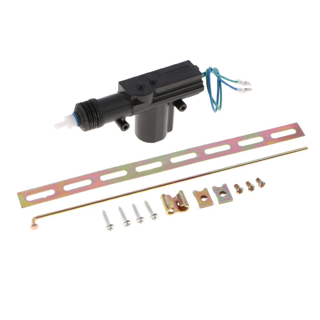 MagiDeal Universal 2//4 Door Remote Keyless Entry Central Locking Actuator Kit