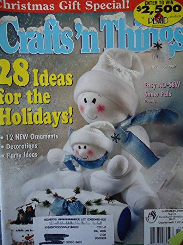 {Christmas Crafts} Crafts'N Things {Volume 28, Number 2, November 2002}