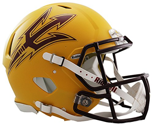 Riddell Sports NCAA Arizona State Sun Devils Speed Authentic Helmet, Gold