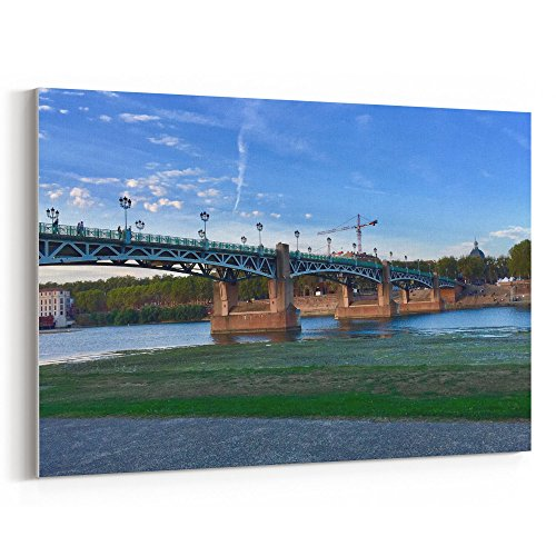 Westlake Art - City Freeway - 12x18 Canvas Print Wall Art - Canvas Stretched Gallery Wrap Modern Picture Photography Artwork - Ready to Hang 12x18 Inch (98D6-DCAC5) -