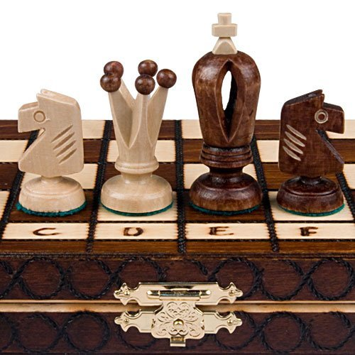 Chess Royal 30 European Wooden Handmade International Set, 11.81 x 1.97-Inch (Popular Chess Wood Set)