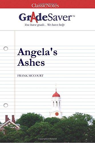 Angela S Ashes Study Guide GradeSaver