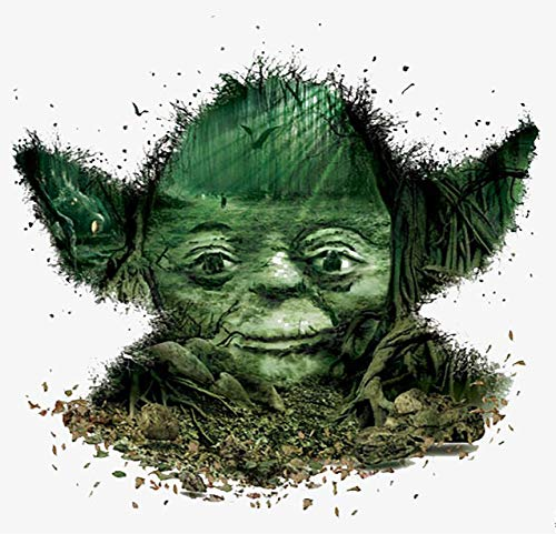 Star Wars Iron On Transfers - Star Wars Yoda Iron On Transfer for T-Shirts & Other Light Color Fabrics #3