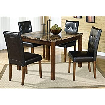 Amazon.com - Ashley Furniture Signature Design - Theo Dining Room ...