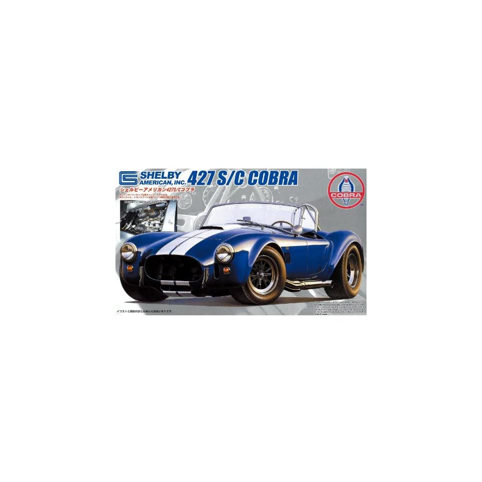1/24 Shelby Cobra 427SC (Model Car) Fujimi Real Sports Car RS 5