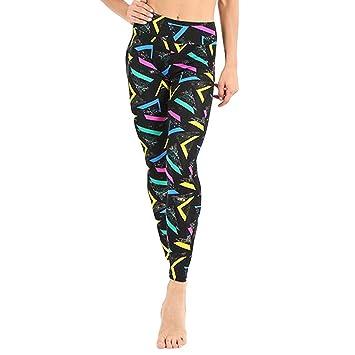 Amazon.com: Berryhot Women High Waist Yoga Legging Power ...
