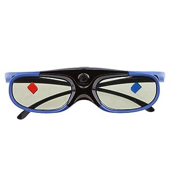 H HILABEE Gafas 3D DLP Link Recargables para Todos Los Proyectores ...