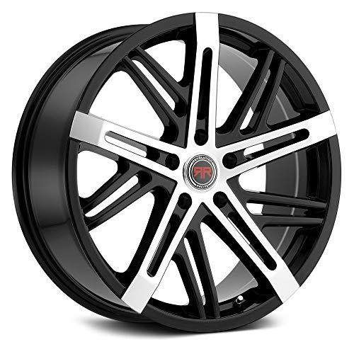 Racing Revolution - Revolution Racing RR19 Сustom Wheel - Black with Machined Face 20