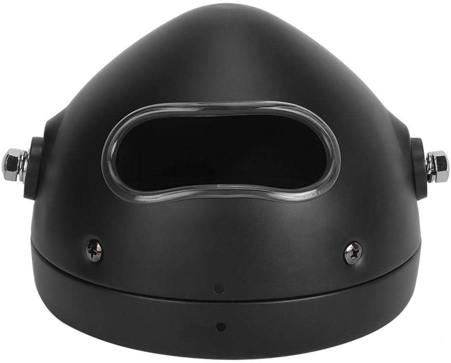 Carcasa del Faro Fydun Protector de la Carcasa del Faro de aleaci/ón de Aluminio de 5.75 Pulgadas Se Adapta a Motocicletas con Tubos de Horquilla de 35-43 mm 1.4-1.7in