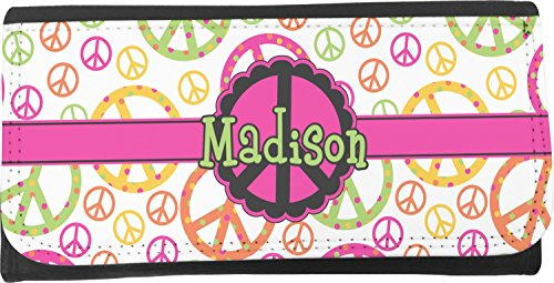 Mom Innovations Peace Sign Ladies Wallet (Personalized)