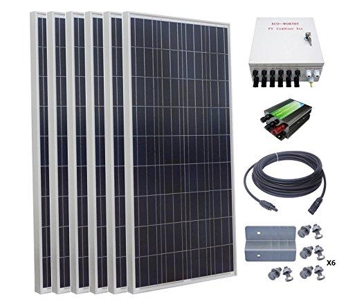 solar panel kit for rv 150w - 5