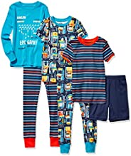 Spotted Zebra Unisex-Child Snug-fit Cotton Pajamas Sleepwear Sets Pajama Set