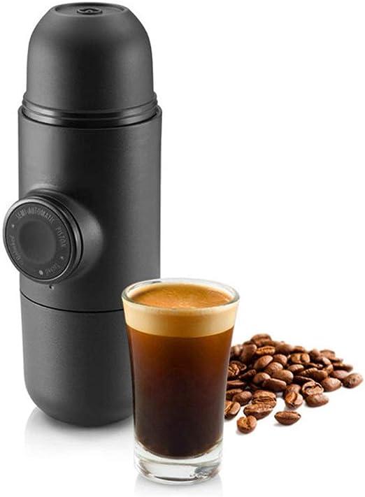 Cafetera Portátil de Mano Cafetera exprés Mini Máquina de café del ...