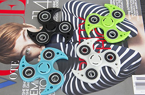BeYumi Fidget Spinner Toy , New Style Design Hand Spinner Toy for Killing Time and Anxiety, Best Stress Reducer, Giving Up Smoking Boredom and Relaxation Hand Spinner Toy