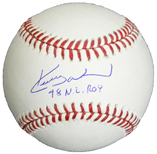 Kerry Wood Autographed Baseball - Rawlings Official w 98 NL ROY - Autographed ()