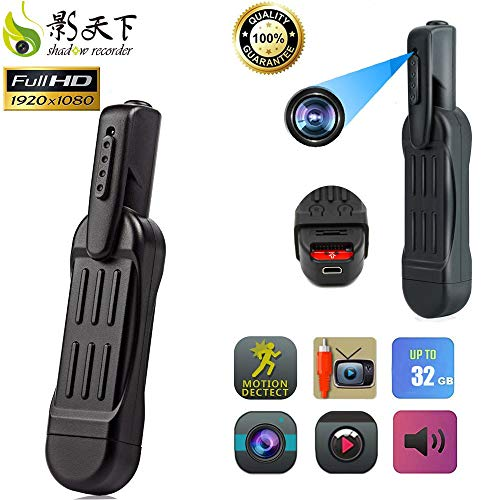 Shadow Recorder Hidden Camera - Spy Camera - Camara Espias - Mini Camera - FULL HD 1080P - Motion Detection - Video Recording - Home Security Monitorin