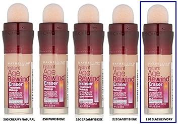 Amazon.com: Maybelline Instant Age Rewind Eraser Treatment Makeup ...