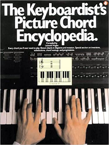 The Keyboardists Picture Chord Encyclopedia Piano Book Amazon