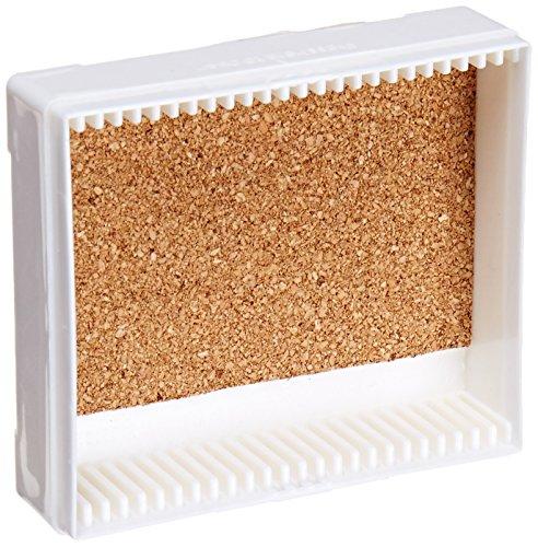 C & A Scientific - Premiere 97-0025 White ABS Plastic Microscope Slide Box