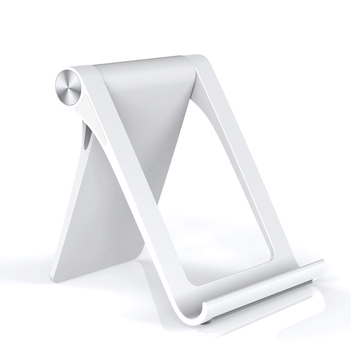 licheers Universal Phone Holder Cell Phone Stand Multi-Angle Office Compatible with Phone XS//XR//8//8 Plus//7//7 Plus Kindle,Suit for Home Galaxy S8//S7//Note 8 Kitchen,Desktop,Nightstand. White