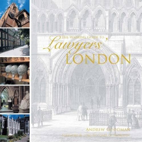 A Walking Guide to Lawyers' London ePub fb2 ebook
