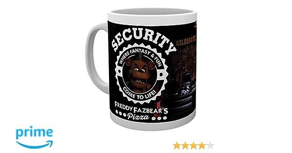GB Eye LTD, Five Nights at Freddys, Seguridad, Taza: Amazon.es: Hogar