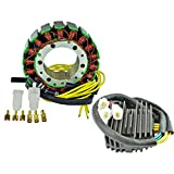 Kit Stator + Voltage Regulator Rectifier For Honda VT 1100 Shadow 1987 1988 1989 1990 1991 1992 1993 1994 1995 1996 1997 1998 1999 2000 2001 2002 2003 2004 2005 2006 2007 OEM Repl.# 31600-MAA-000