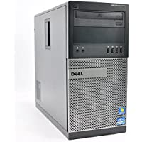 Dell Optiplex 990 Tower Desktop Computer Intel Core i5-2400 3.1GHz 8GB DDR3 Memory 1TB HDD DVDRW Windows 10 Professional) (Certified Refurbished)