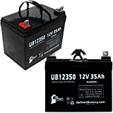 2x Pack - Pride LEGEND SCOOTER Battery - Replacement UB12350 Universal Sealed Lead