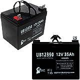 2X Pack - Wilderness Tarpon 100 Kayak Electric Trolling Motor Battery - Replacement