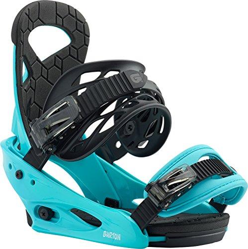 Burton Smalls Snowboard Bindings Surf Blue Kids 1Sz (4k-7k)