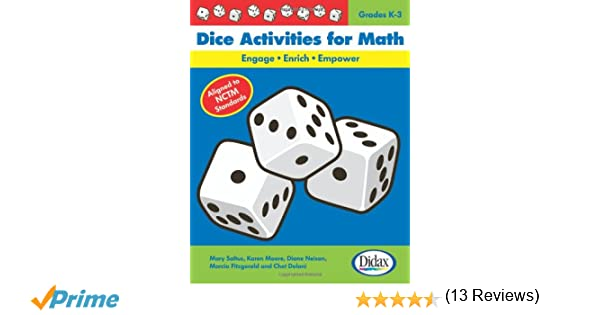 Amazon.com: Dice Activities for Math: Engage-Enrich-Empower ...