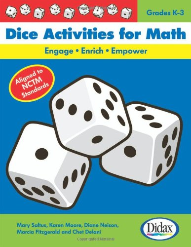 Dice Activities for Math: Engage-Enrich-Empower / Grades K-3