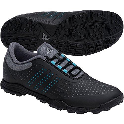 adidas Women's Adipure Sport Golf Shoe, Grey, 8.5 M US by adidas
