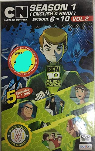 Amazon in: Buy Ben 10 Alien Force Season 1 Vol2 (dvd) DVD