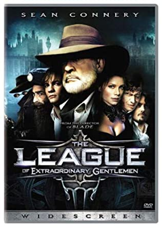 Amazon Com The League Of Extraordinary Gentlemen Widescreen Edition Sean Connery Stuart Townsend Peta Wilson Jason Flemyng Tony Curran Shane West Naseeruddin Shah Richard Roxburgh Max Ryan Tom Goodman Hill David Hemmings Terry O Neill