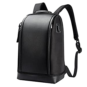 USB Charge Backpack Computer Bag Shoulders Anti-theft Backpack 16 inch Waterproof Laptop Backpack for Men Black 15 Inches