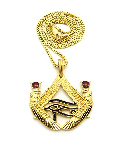 Fashion 21 Egyptian God Eye of Horus Wadjet Pendant 24